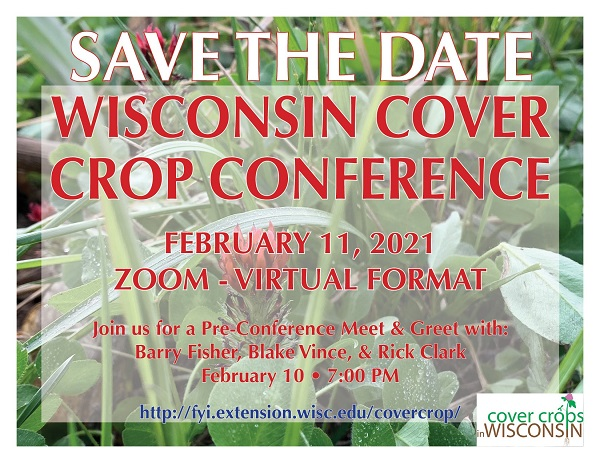 Wisconsin Cover Crop Save the Date